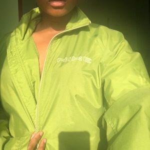 Neon Green Nike Jacket